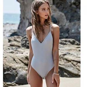 🖤LA Hearts Grey one piece swim suit